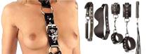 Tout le BDSM : Du cuir, du métal, pour vos moments BDSM, et des accessoires des plus  soft au plus hard: menottes, martinets, cravaches, baillons, pinces, speculum...